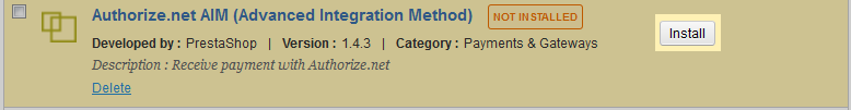 authorize-net-module-install