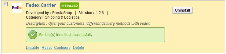 fedex-install-configure