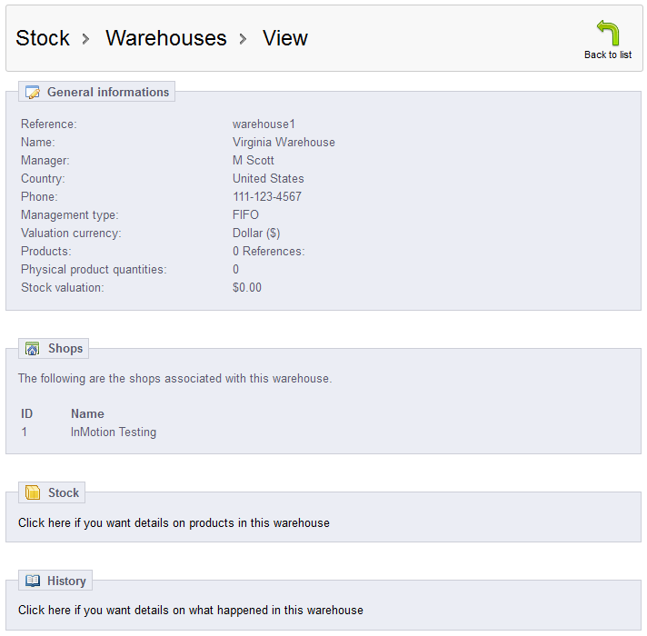 view-warehouse