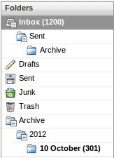 RoundCube-IMAP-auto-archive