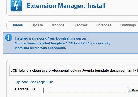 Successfull Joomla 3.0