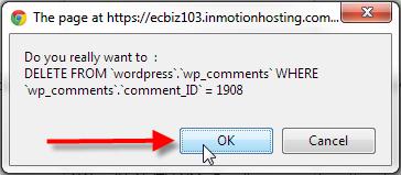 wp-comments-delete-single-entry-ok