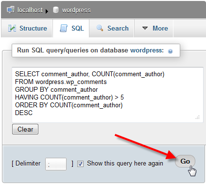 wp-comments-sql-statement-and-go