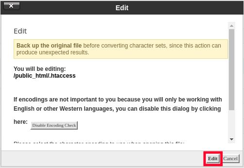 Edit .htaccess file - Setup 301 Redirect
