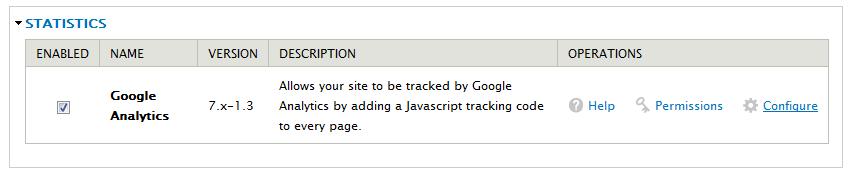 enable-google-analytics-module