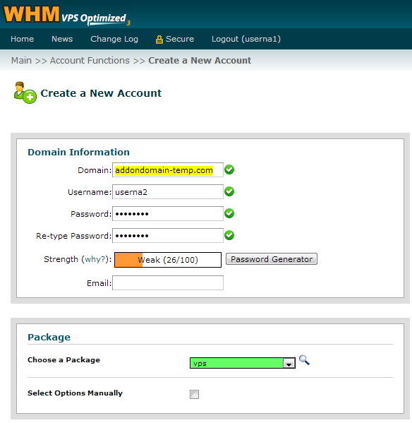 cpanel-enter-temp-domain