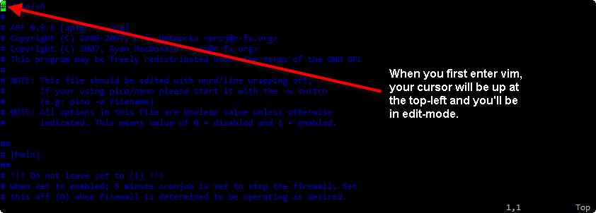 vim-editing-firewall-edit-mode