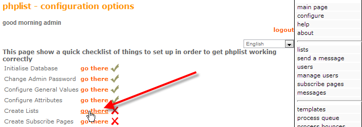 php-list-admin-click-on-create-lists
