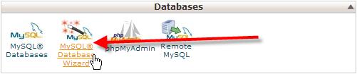 click-on-mysql-database-wizard