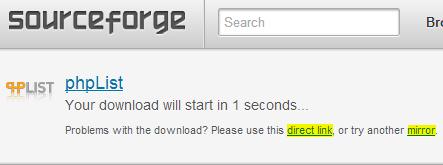 phplist-sourceforge-download