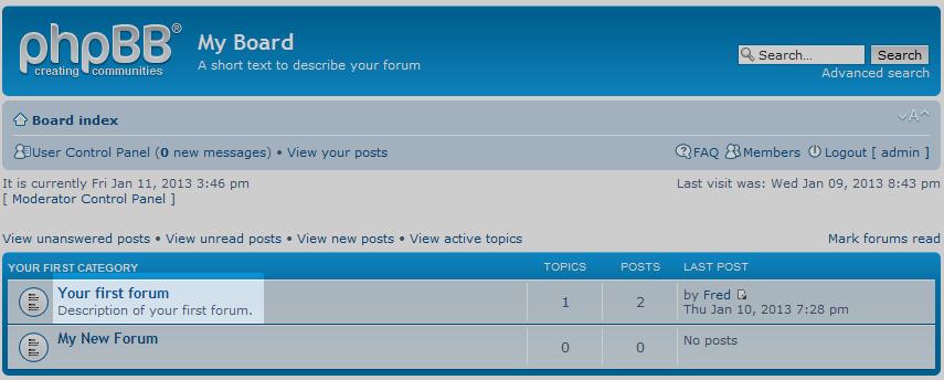 click target forum