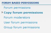 click copy permissions