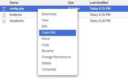 right click on config script open code editor