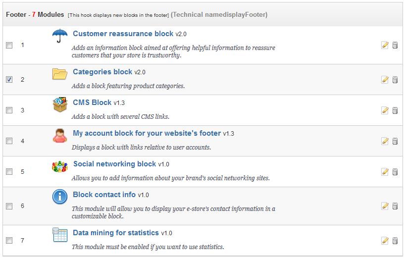 edu prestashop1.5 339 1 modules list
