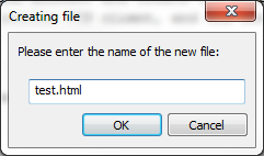 name and save file