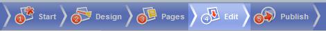 top menu edit icon