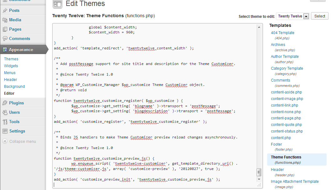 theme-editor