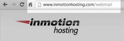 enter webmail URL