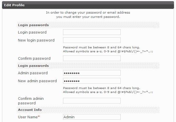 Edit Admin Profile PHP-Fusion