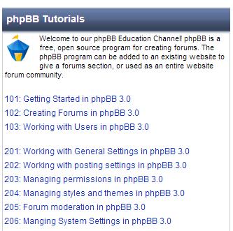 IMH phpBB Tutorials