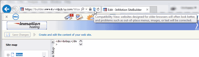 Click Compatability Internet Explorer Premium Web Builder