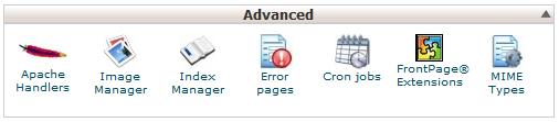 Find the FrontPage Extensions in Cpanel