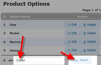 edu oscommerce 102 add attribute inserting option