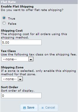 edu oscommerce 103 flat rate shipping flat rate shipping options