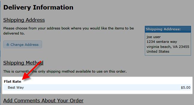 edu oscommerce 103 per item shipping flat rate on checkout