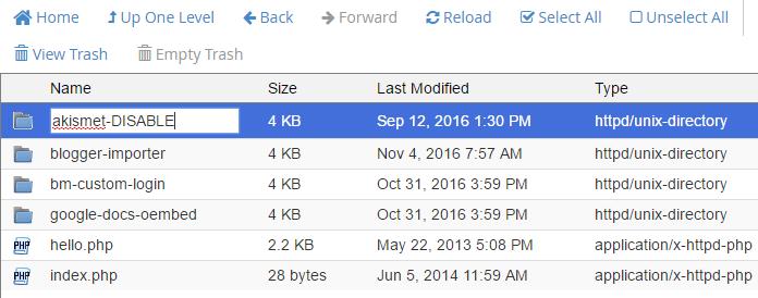 Rename each plugin folder