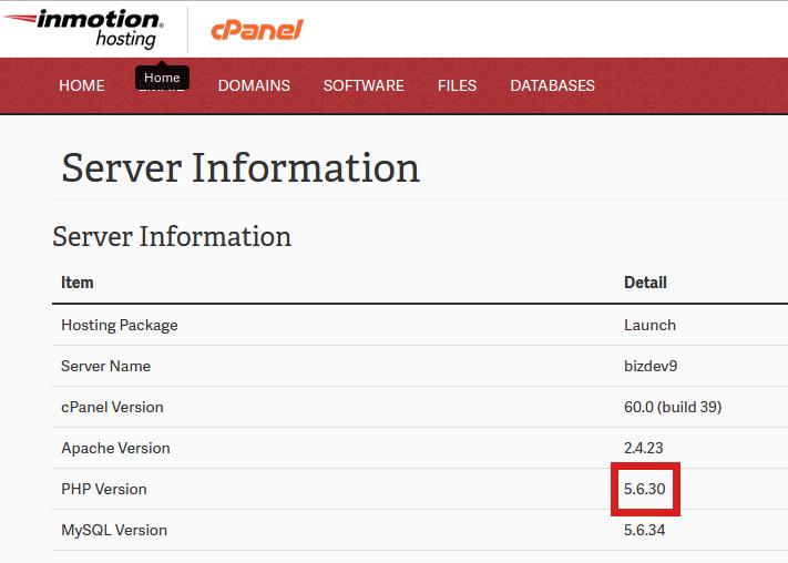 php-version-details