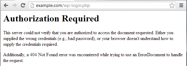 wp login bad password attempt blocked