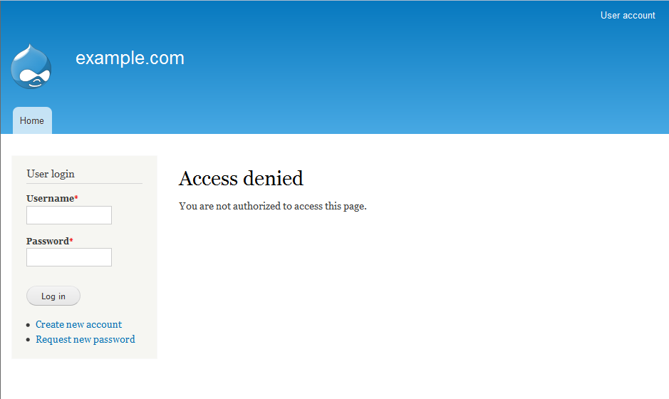 visit your admin login page