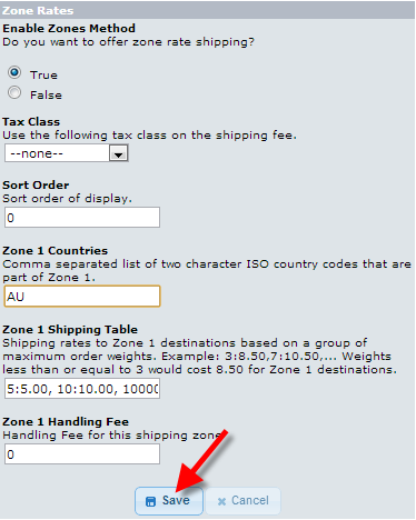 edu oscommerce 103 zone rate shipping setting up zone rates