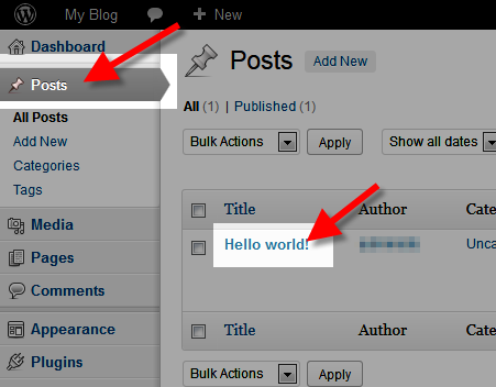 Adding HTML to a WordPress Page/Post | InMotion Hosting Support Center