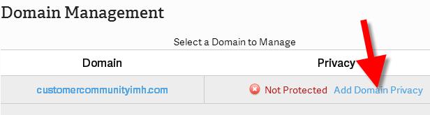 revamp adding domain privacy