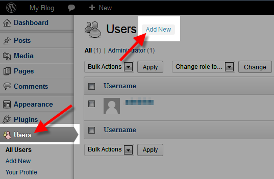 How to Create a WordPress User in the Dashboard | InMotion
