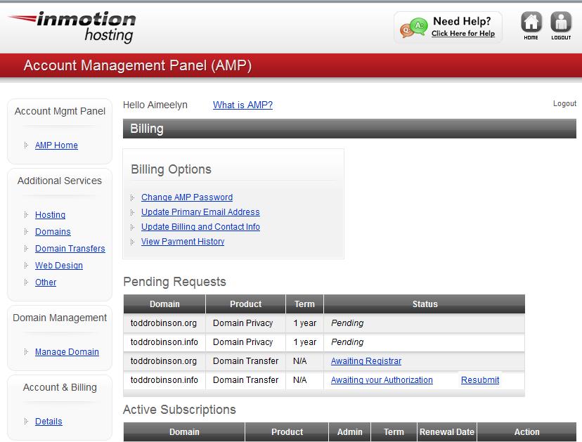 edu amp request mit email account billing