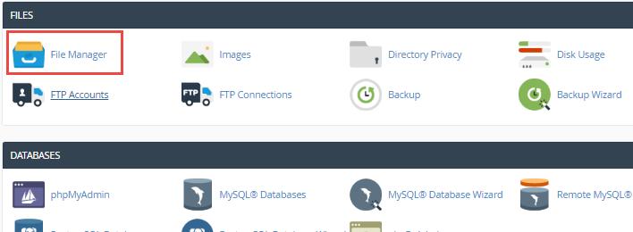 koken select file manager