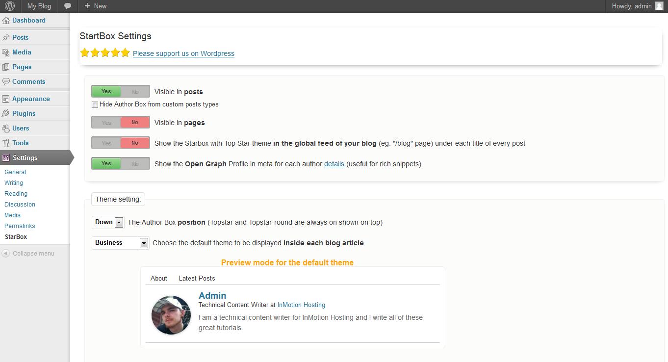 wordpress plugins starbox wordpress plugin 3