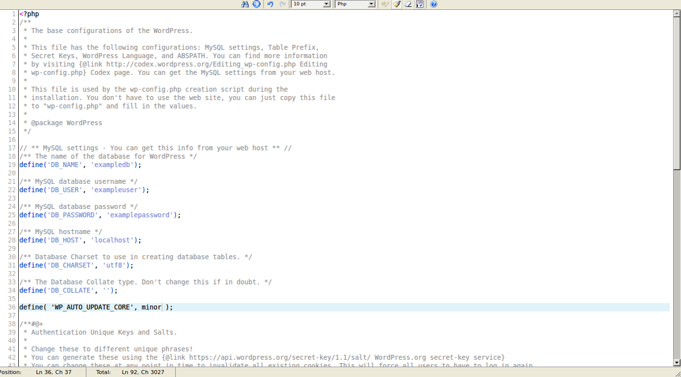 wordpress wordpress auto update 5