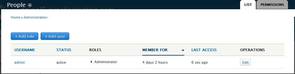 edu Drupal 8 106 create user account 1 click add user