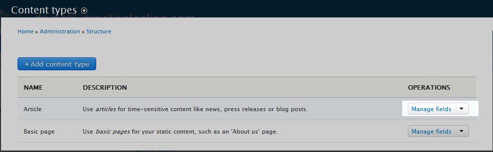 edu Drupal 8 107 adjust max comments 2 select manage fields