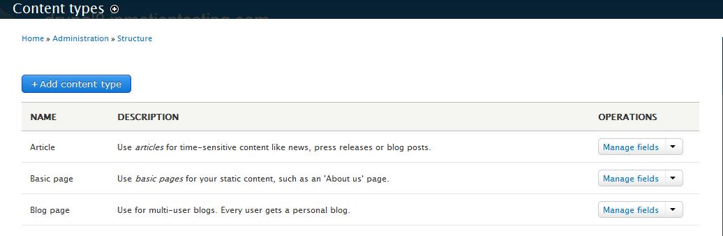 edu Drupal 8 107 customize comments 2 edit content type