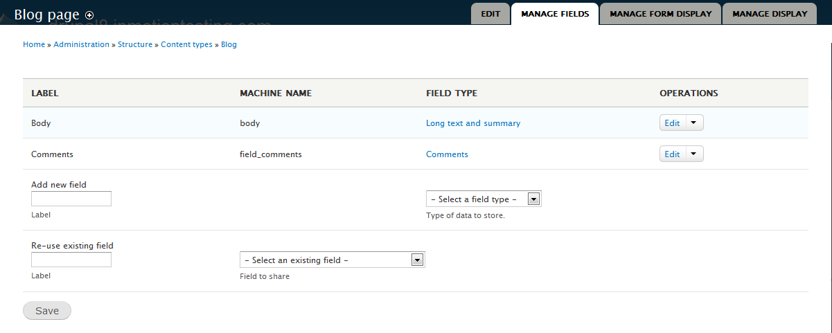 Customizing your Comments field in Drupal 8 | InMotion