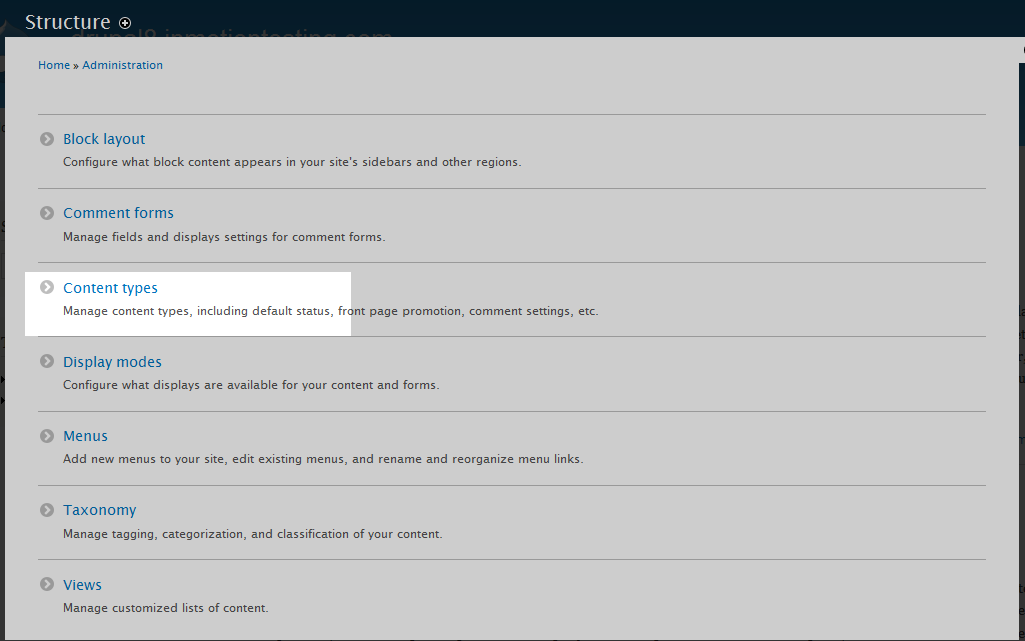 Disabling comments for Article content type in Drupal 8   InMotion