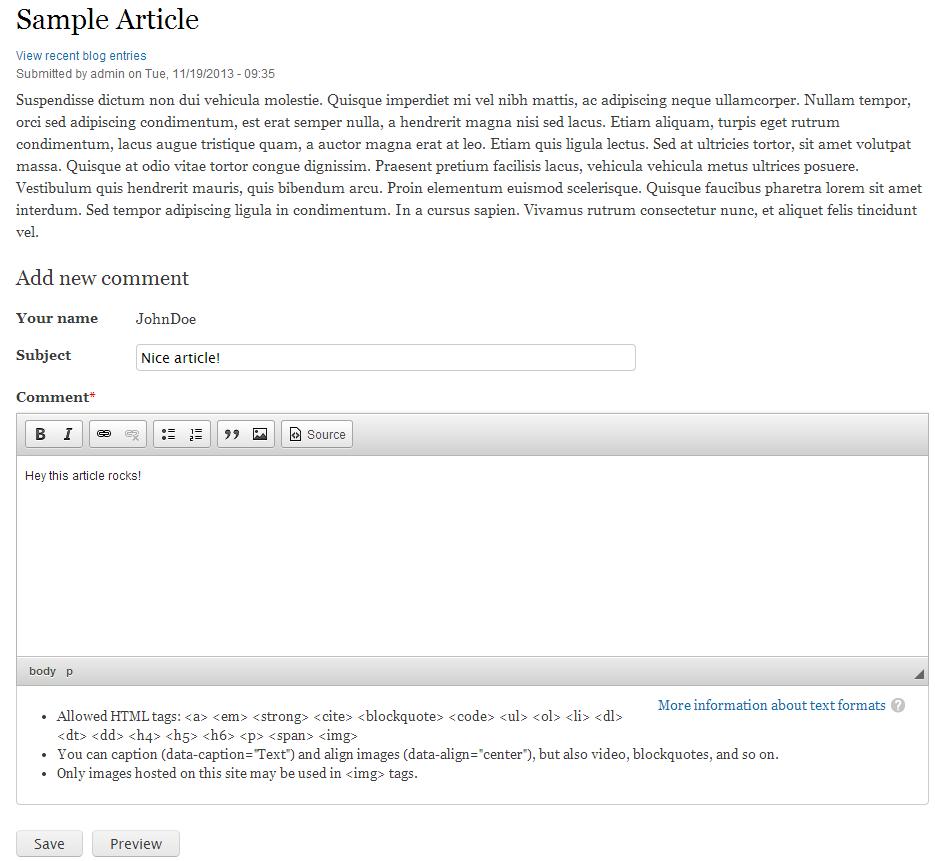 edu Drupal 8 107 intro 1 comment