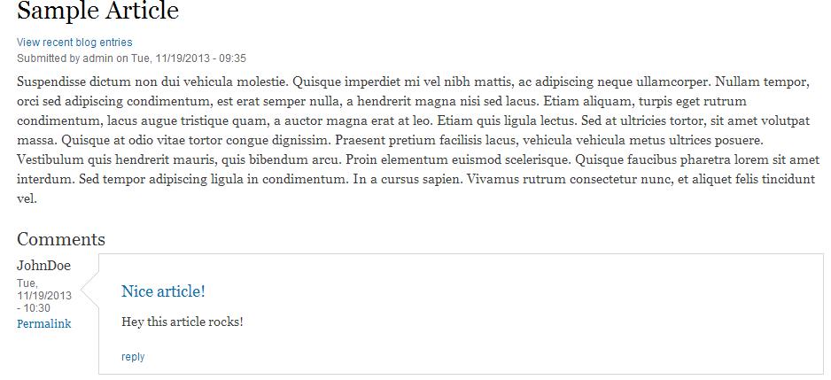edu Drupal 8 107 intro 2 comment complete