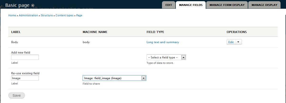 edu Drupal 8 108 enable image field 2 enter data