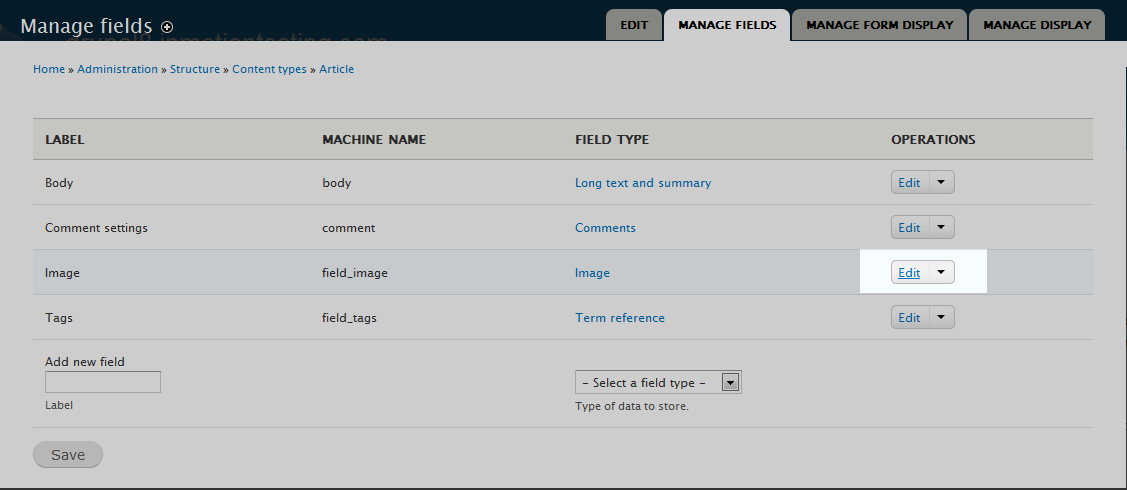 edu Drupal 8 108 set size settings 2 select edit